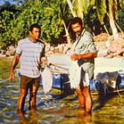 Fiji Islands - Fishermen.
