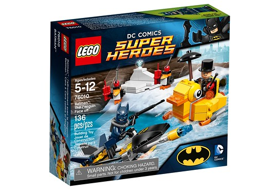 76010 Batman The Penguin Face Off BOX