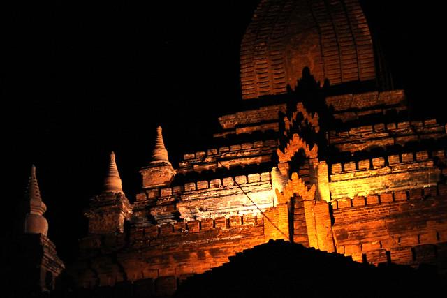 Pagoda by Night