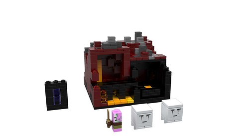 LEGO Minecraft: The Nether
