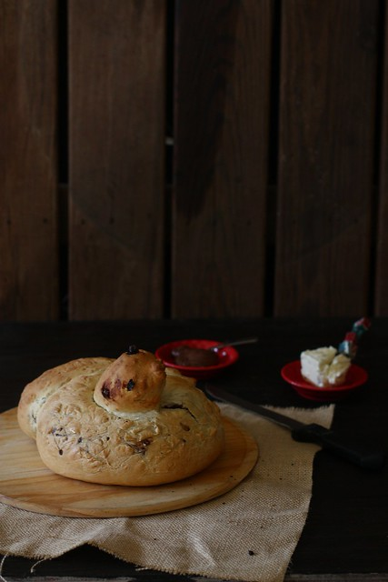 Mocha Walnut Bread 1