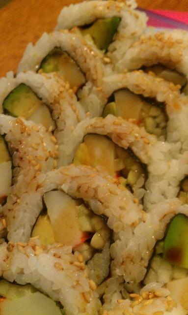 174/365 [2013] - Sushi For Dinner