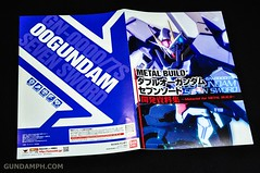 Metal Build 00 Gundam 7 Sword and MB 0 Raiser Review Unboxing (11)
