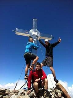 Ein bisschen Spaß muss sein, Gipfel Rötspitze