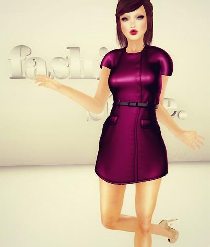[AB]Mesh Clara Dress Pink