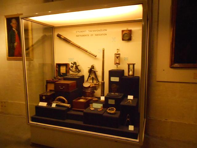 Instrumentos de Navegación  Museo Marítimo Malta
