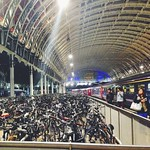 bike storage for 1000 train commuters