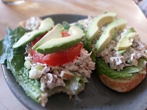 turkey tarragon salad sandwich by pipsyq