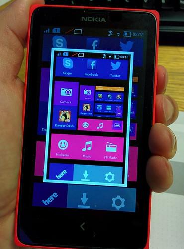 Nokia X How to Take Screenshot