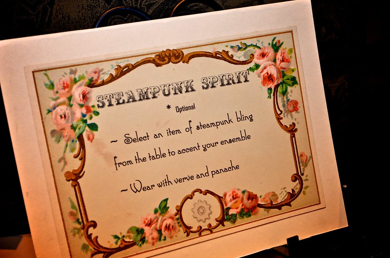 Invitation to Partake of Steampunk Bling