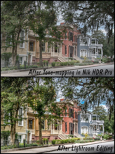Comparison images of Classic Houses in Savannah