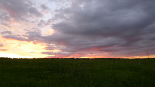 Sunset in Beskidy
