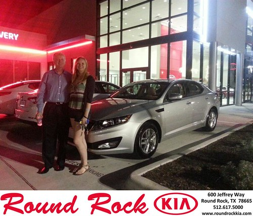 Thank you to Shelby Lambrecht on the 2013 Kia Optima from Vanessa Odreman and everyone at Round Rock Kia! by RoundRockKia