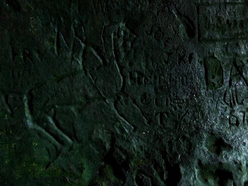 King's cave graffiti 5
