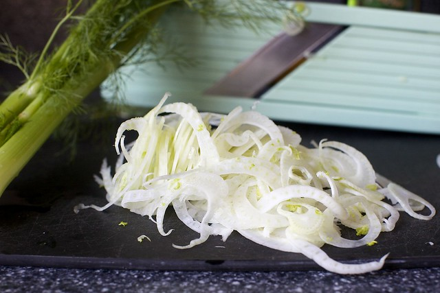 ribbons of fennel