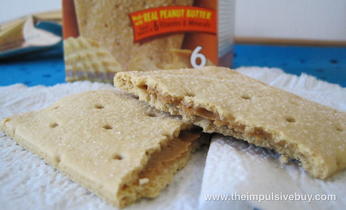 Pop-Tarts Gone Nutty! Peanut Butter Innards
