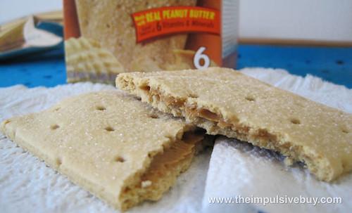 Pop-Tarts Gone Nutty! Peanut Butter Innards