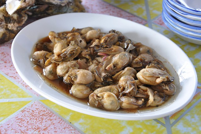 Oysters Adobo