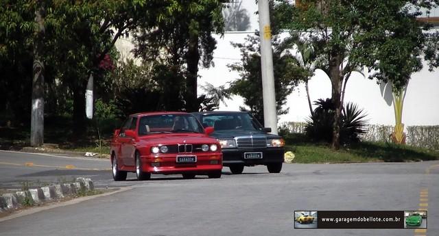 BMW M3 (E30) X Mercedes-Benz 190E 2.5-16