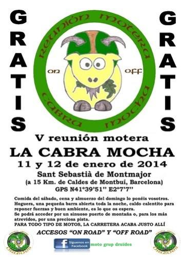 V Reunión Motera La Cabra Mocha - Sant Sebastià de Montmajor