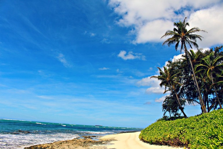 hawaii beach cottage barbers point white plains