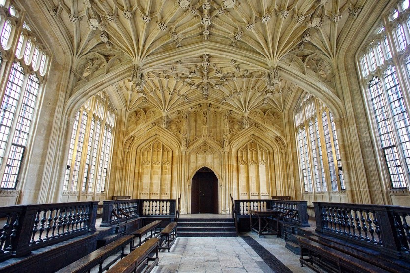 Divinity School, Oxford.