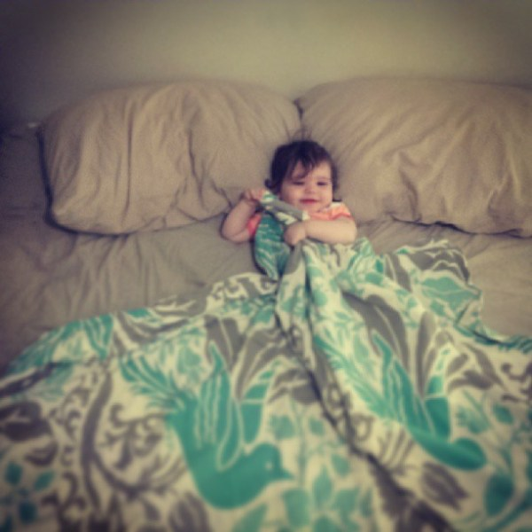 Tucked in #tinybuttonsblog