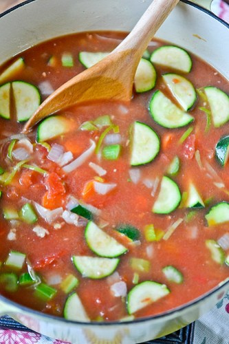 Smokey Minestrone with Tortellini-4