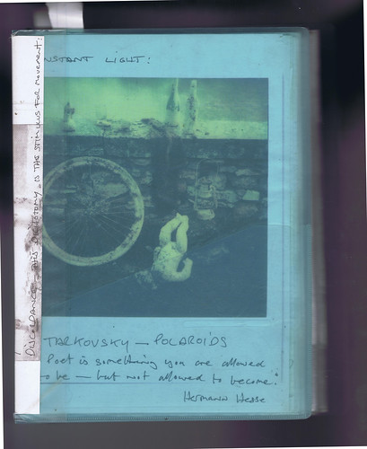 Transparent Folder : Tarkovsky Polaroids by Russell Moreton