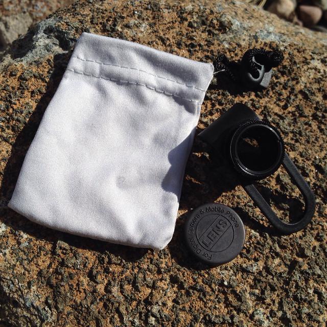 Clip N Slide Circular Polarizer (CPL) Filter Lens for Smatphones - 2