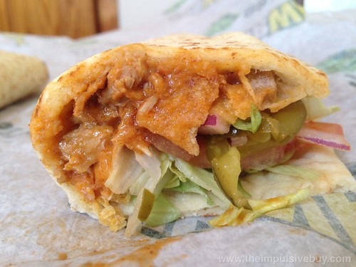 Subway Fritos Chicken Enchilada Melt 3