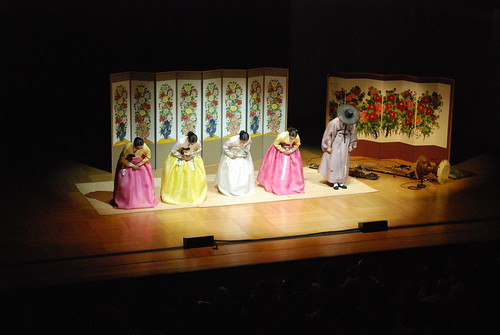 Pansori performance with Ahn Sook-Sun