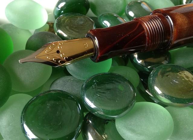 Bamboo Pen by Ken Cavers