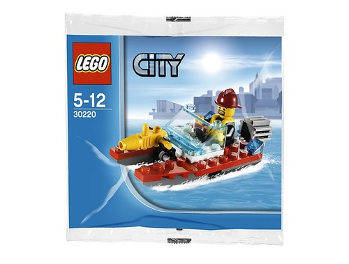 30220 Fire Speedboat