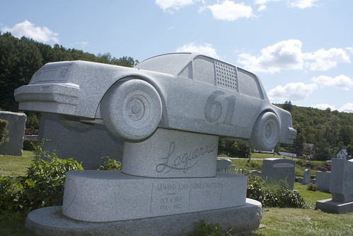Racing Car ~ Hope Cemetery by celticcat1