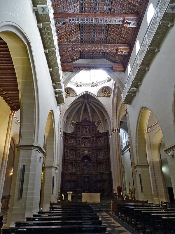 Teruel altar mayor retablo Catedral Santa Maria de Mediavilla 01