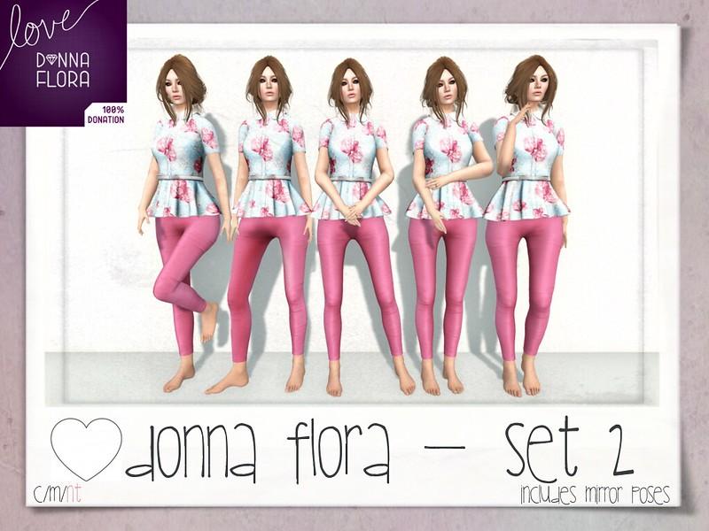 ♥ Donna Flora