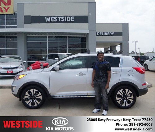 Happy Birthday to Tyrone Walker from Baez Orlando and everyone at Westside Kia! by Westside KIA