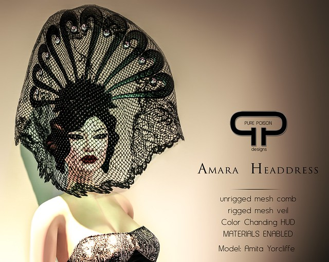 Pure Poison - Amara Headdress