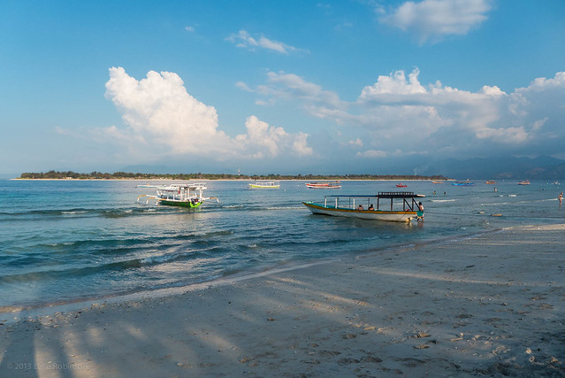 Late afternoon, Gili Trawangan
