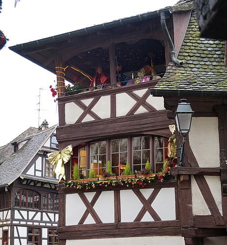 Straßburg Weihnachtsdeko