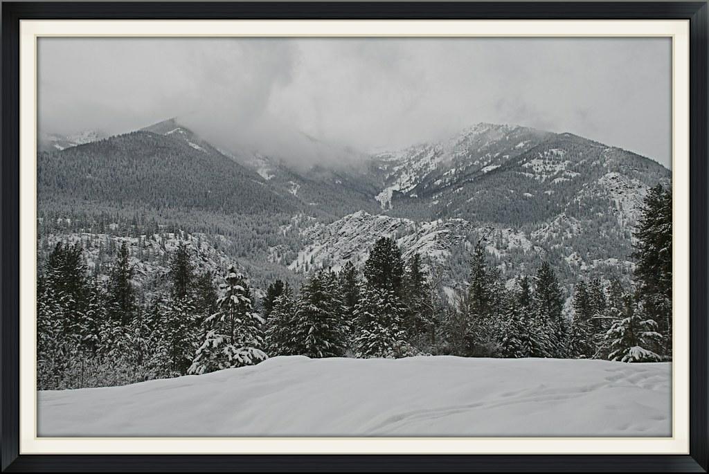 Winter in the Coeur d'Alenes