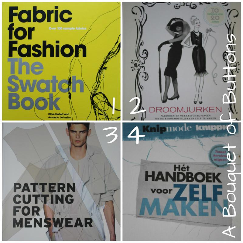 sewing books, naaiboeken