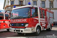 Fahrzeugübergabe Schlossplatz 04.06.13