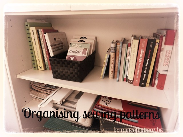 organising sewing patterns