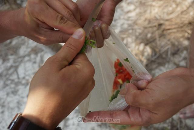 naturist ceviche 0005 Sian Kaan beach, Quintana Roo, Mexico