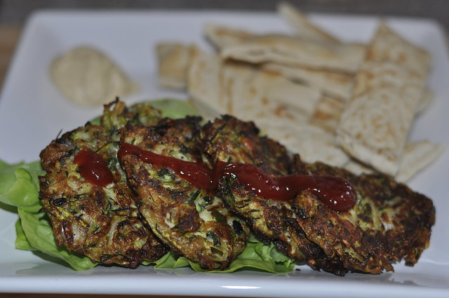 2013-06-22 Courgette fritters