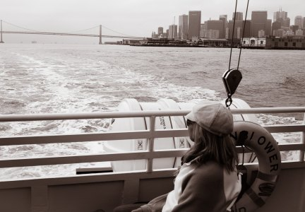Heading out on the Ferry