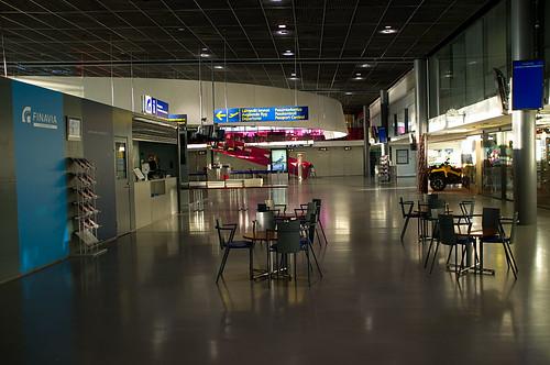Rovaniemi airport, Lapland