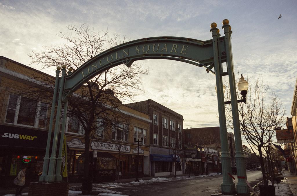 Lincoln Square sign